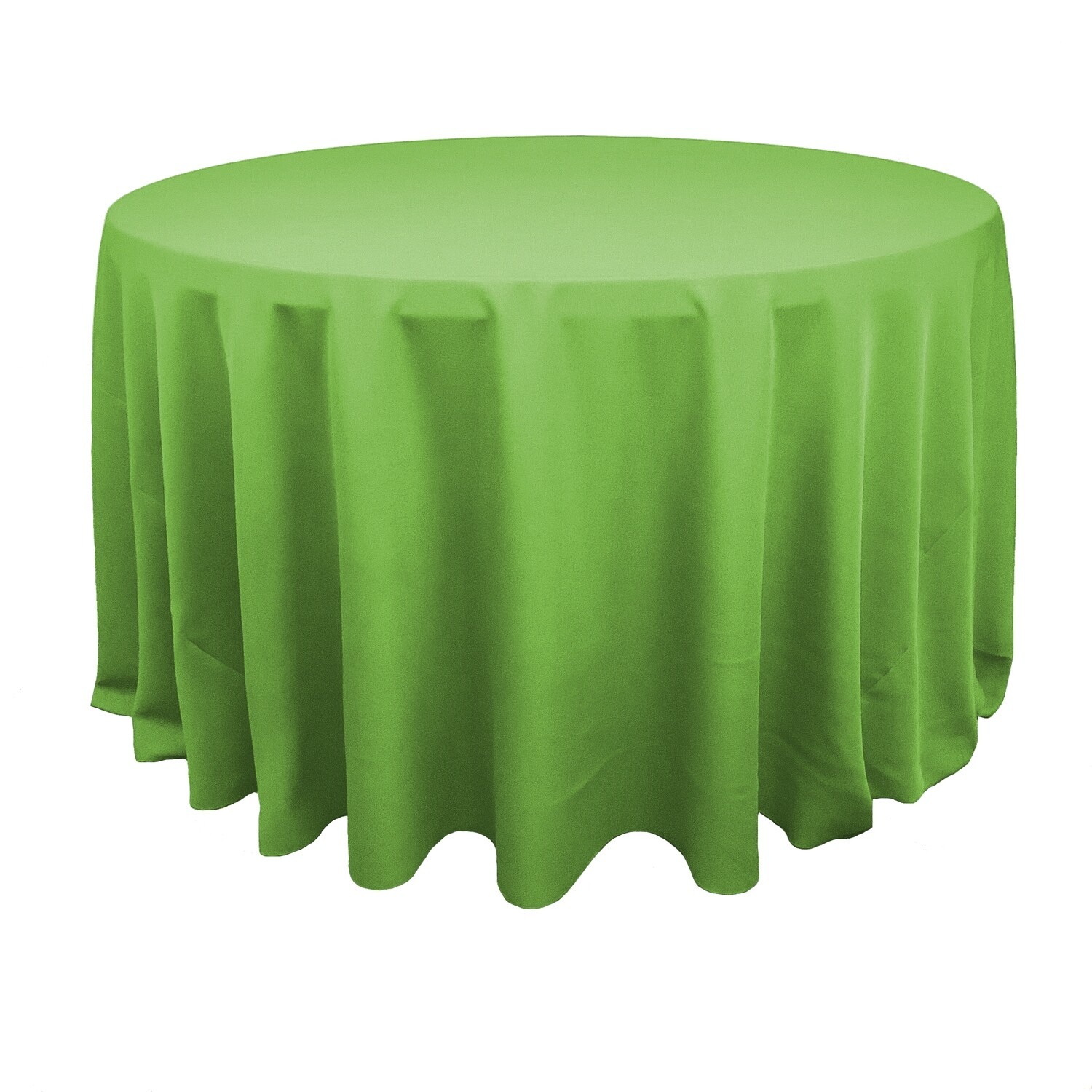 Lime Green Polyester Linens