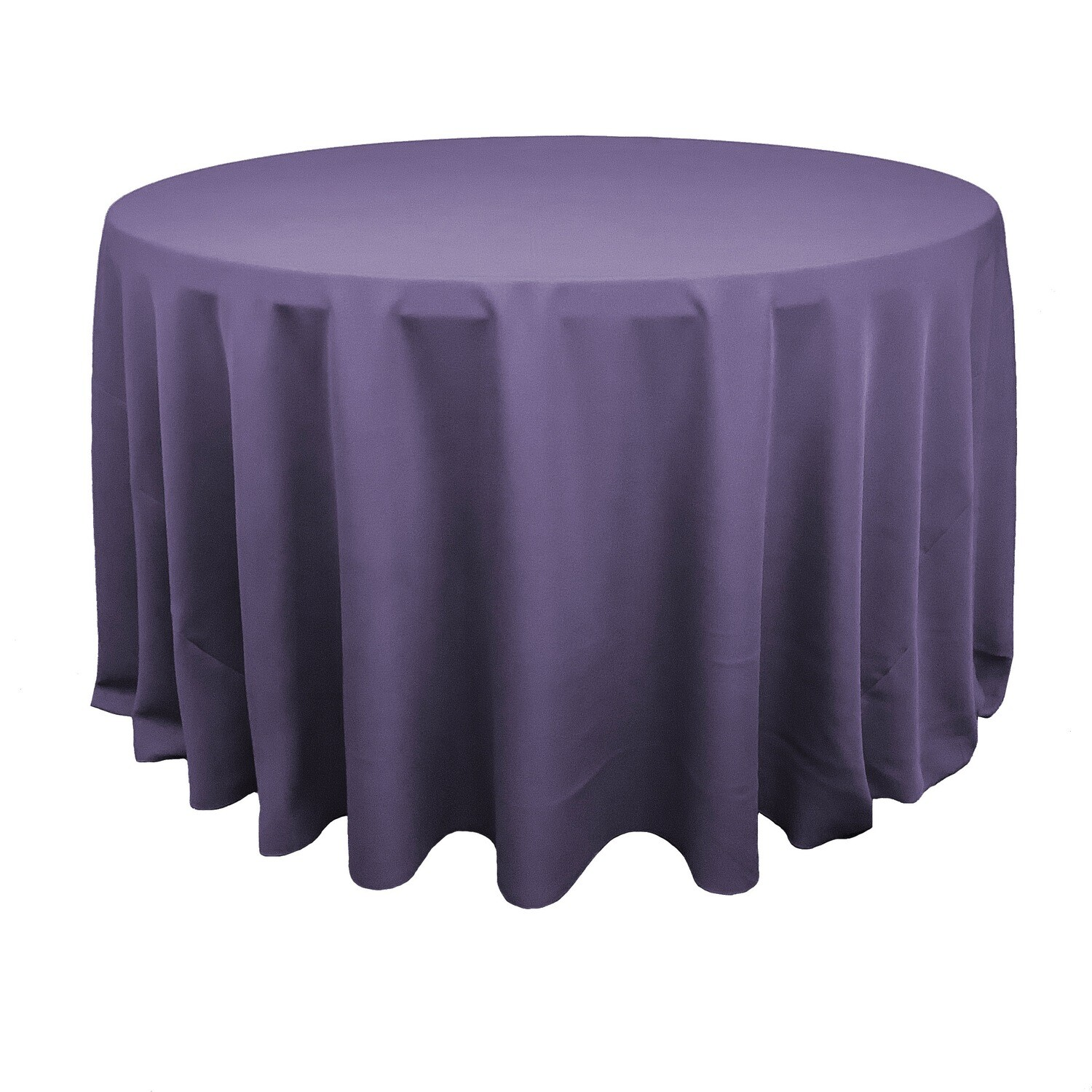 Dusty Purple Polyester Linens