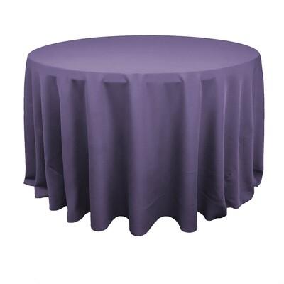 Dusty Purple Polyester Linens