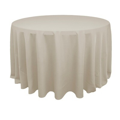 Ivory Polyester Linens