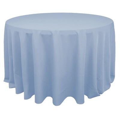 Light Blue Polyester Linens