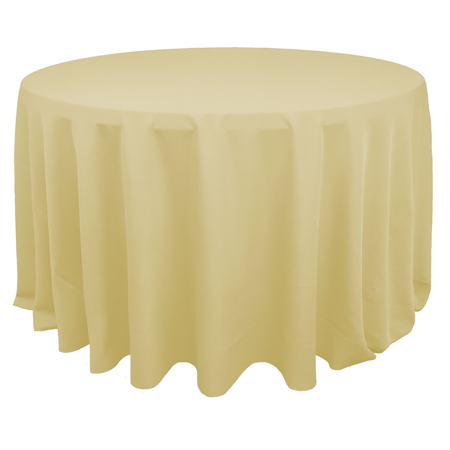 Buttercup Yellow Polyester Linens