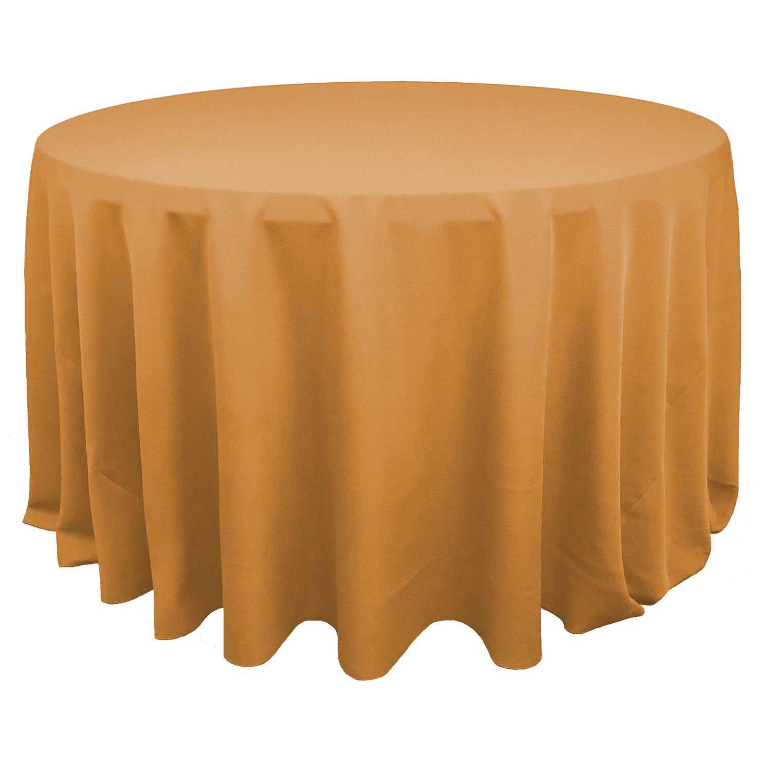Gold Polyester Linens