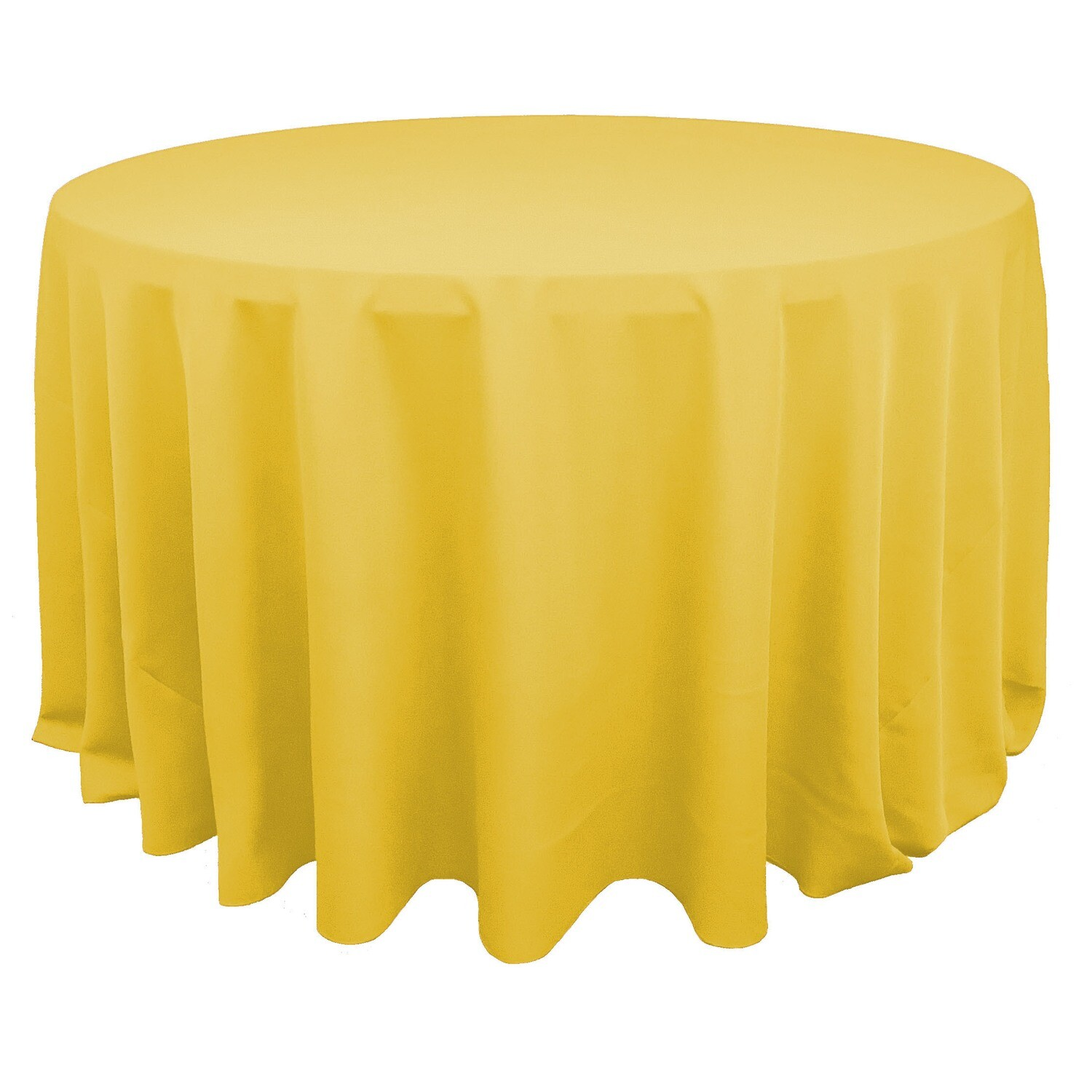 Canary Yellow Polyester Linens