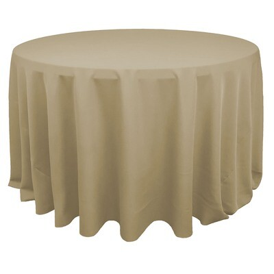 Champagne Polyester Linens