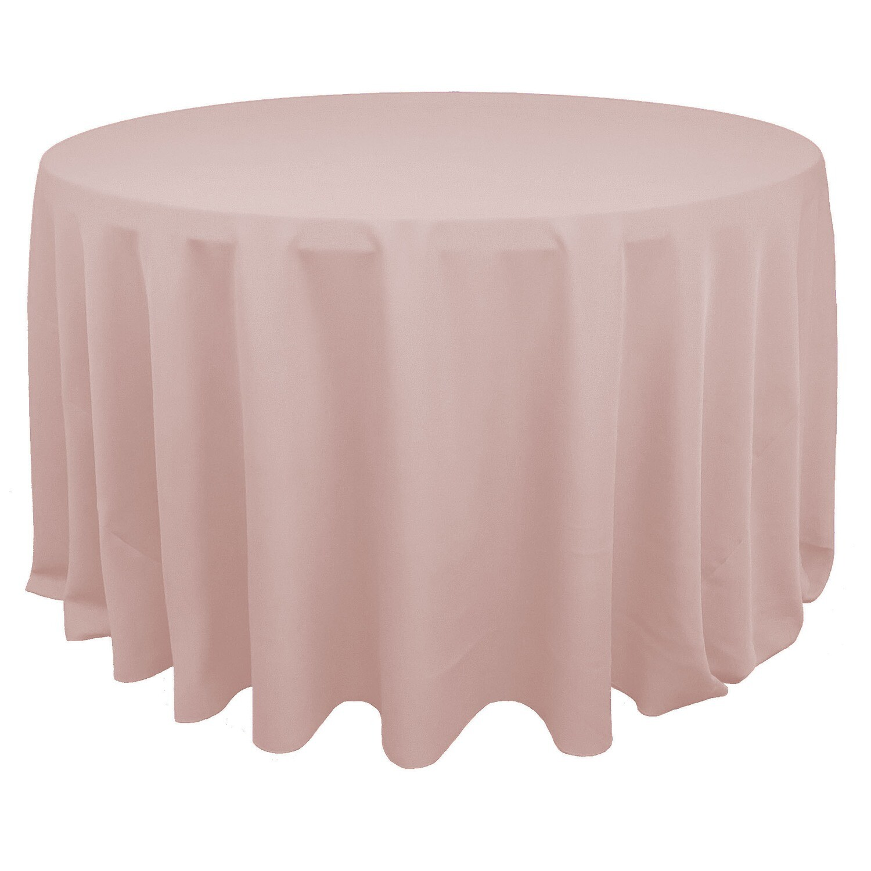 Blush Polyester Linens