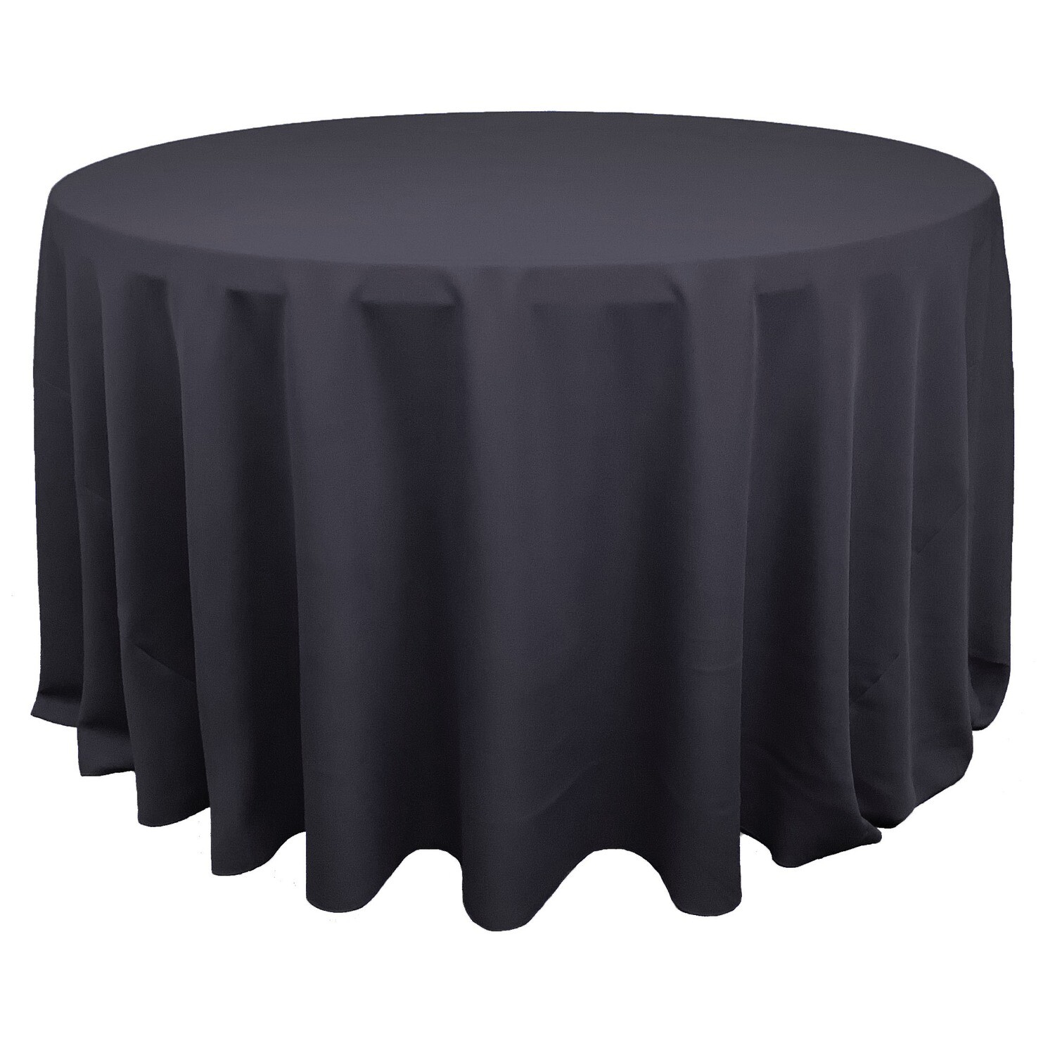 Pewter Polyester Linens