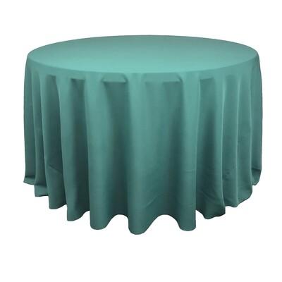 Tiffany Blue Polyester Linens