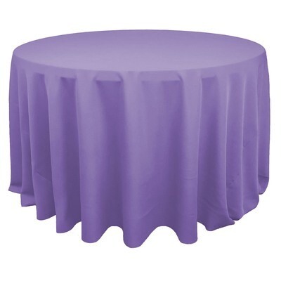 Lilac Polyester Linens