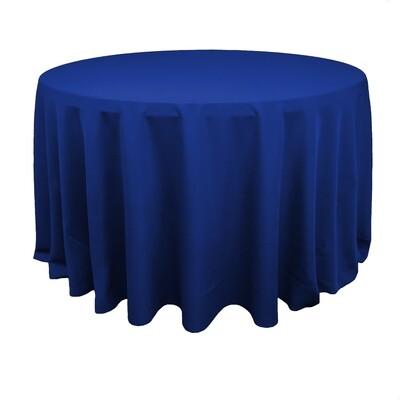 Royal Blue Polyester Linens