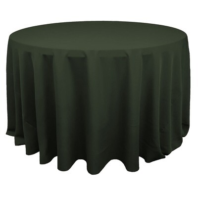 Olive Green Polyester Linens