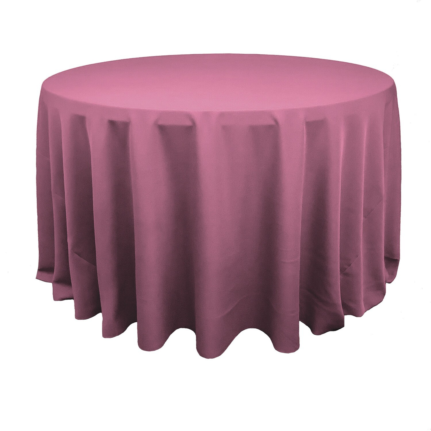 Dusty Rose/Mauve Polyester Linens