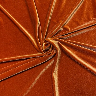 Burnt Orange Premium Velvet Linens