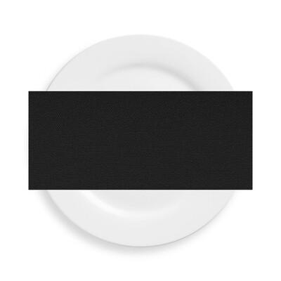 Black Polyester Napkins