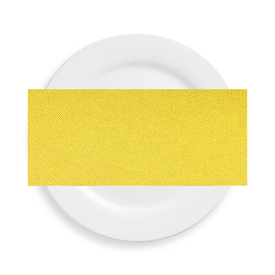 Canary Yellow Polyester Napkins