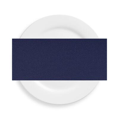 Navy Blue Polyester Napkins