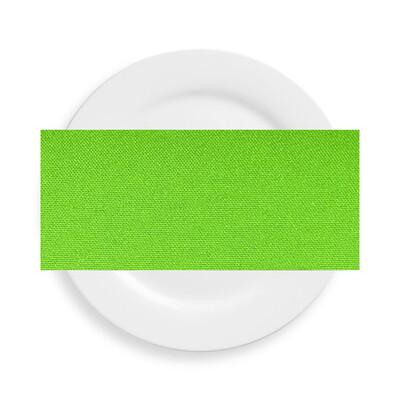 Lime Green Polyester Napkins