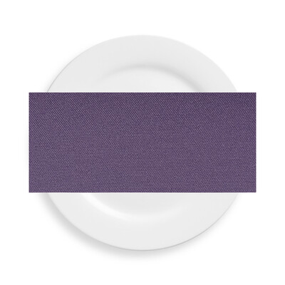 Dusty Purple Polyester Napkins