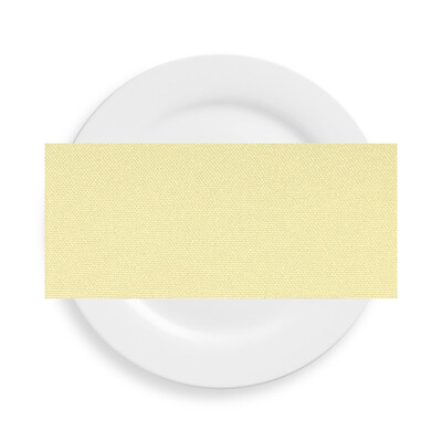 Buttercup Yellow Polyester Napkins