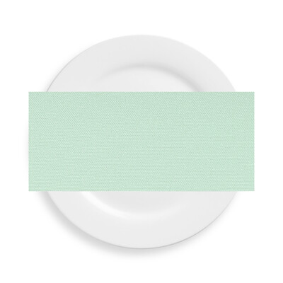 Mint Green Polyester Napkins