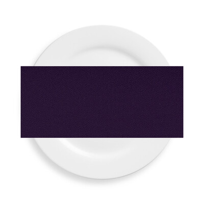 Eggplant Polyester Napkins