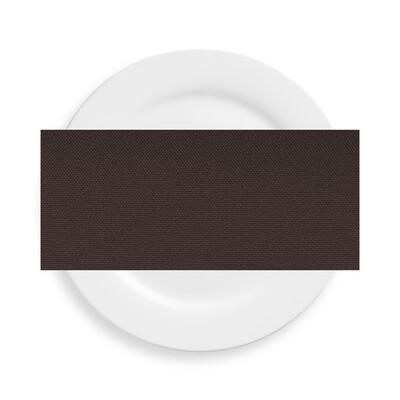 Chocolate Polyester Napkins