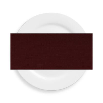 Burgundy Polyester Napkins