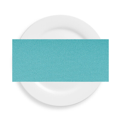 Pool Blue Polyester Napkins
