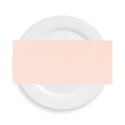 Peach Polyester Napkins