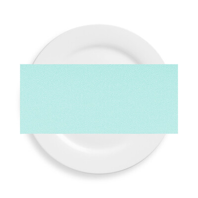 Ice Mint Blue Polyester Napkins