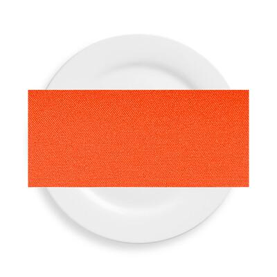 Neon Orange Polyester Napkins