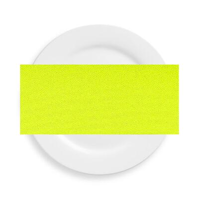 Neon Yellow Polyester Napkins