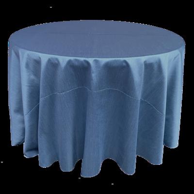 Dusty Blue Shantung Linens