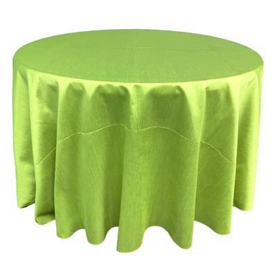 Apple Green Shantung Linens