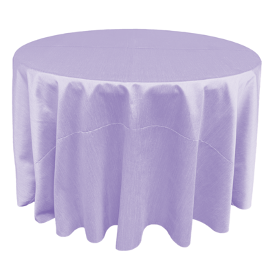 Lavender Shantung Linens