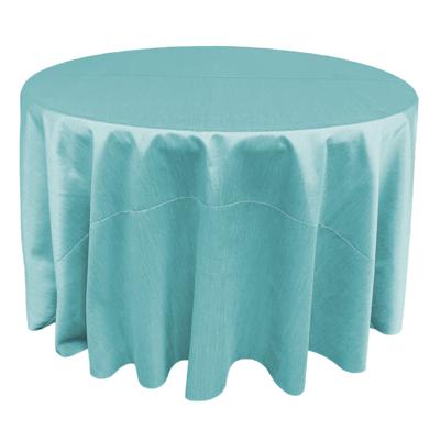 Tiffany Blue Shantung Linens