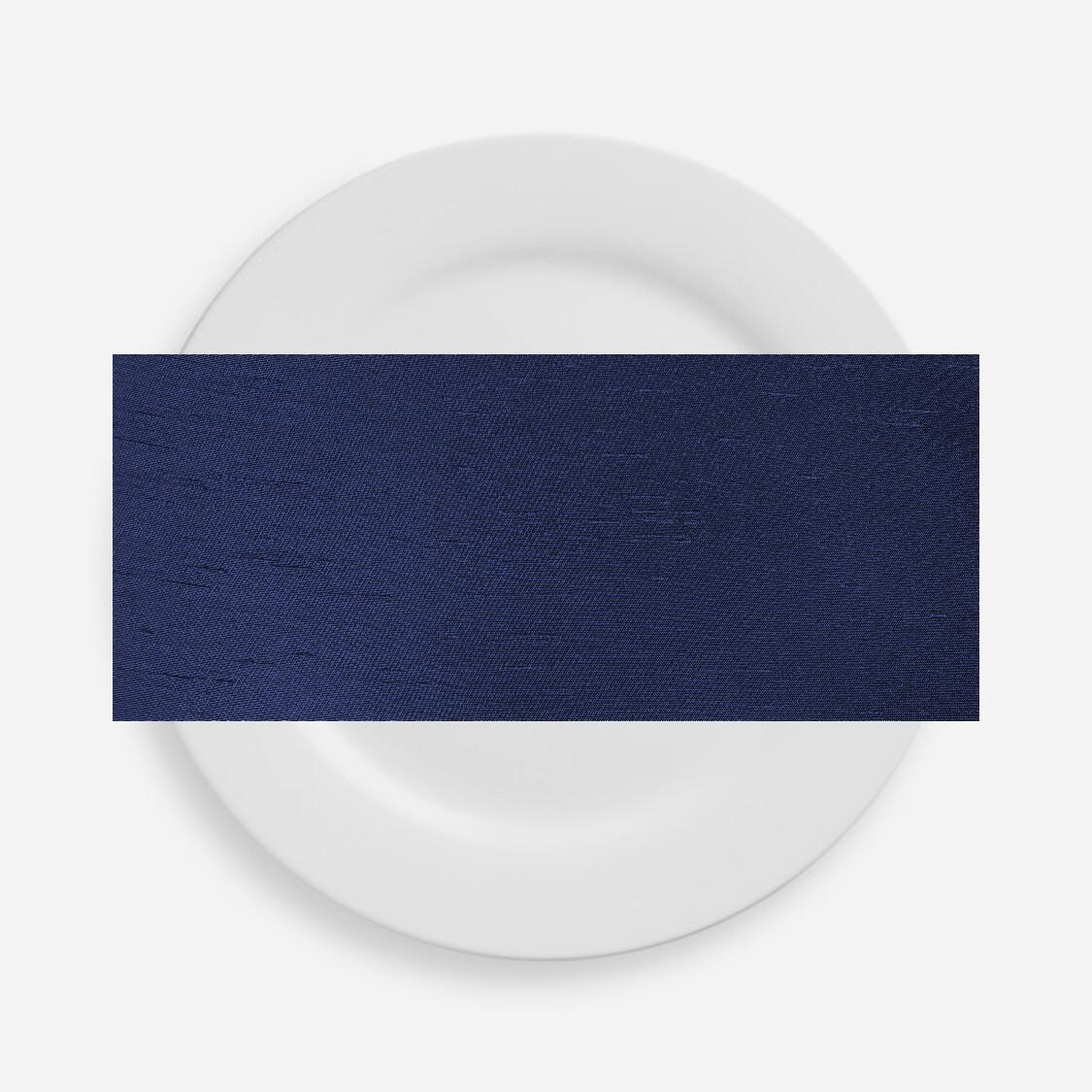 Navy Blue Shantung Napkins