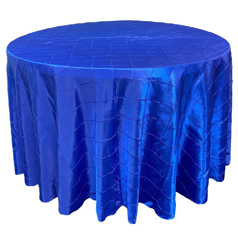 Royal Blue Pintuck Linens