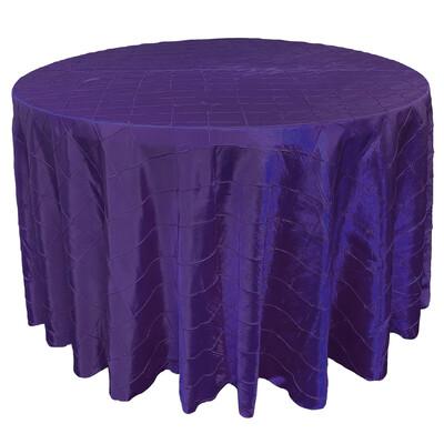 Royal Purple Pintuck Linens