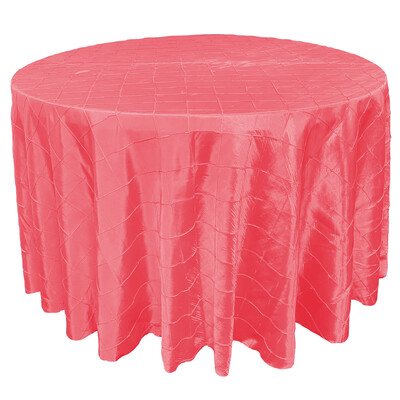 Coral Pintuck Linens