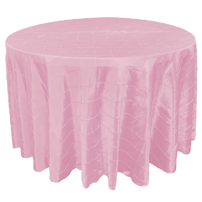 Light Pink Pintuck Linens