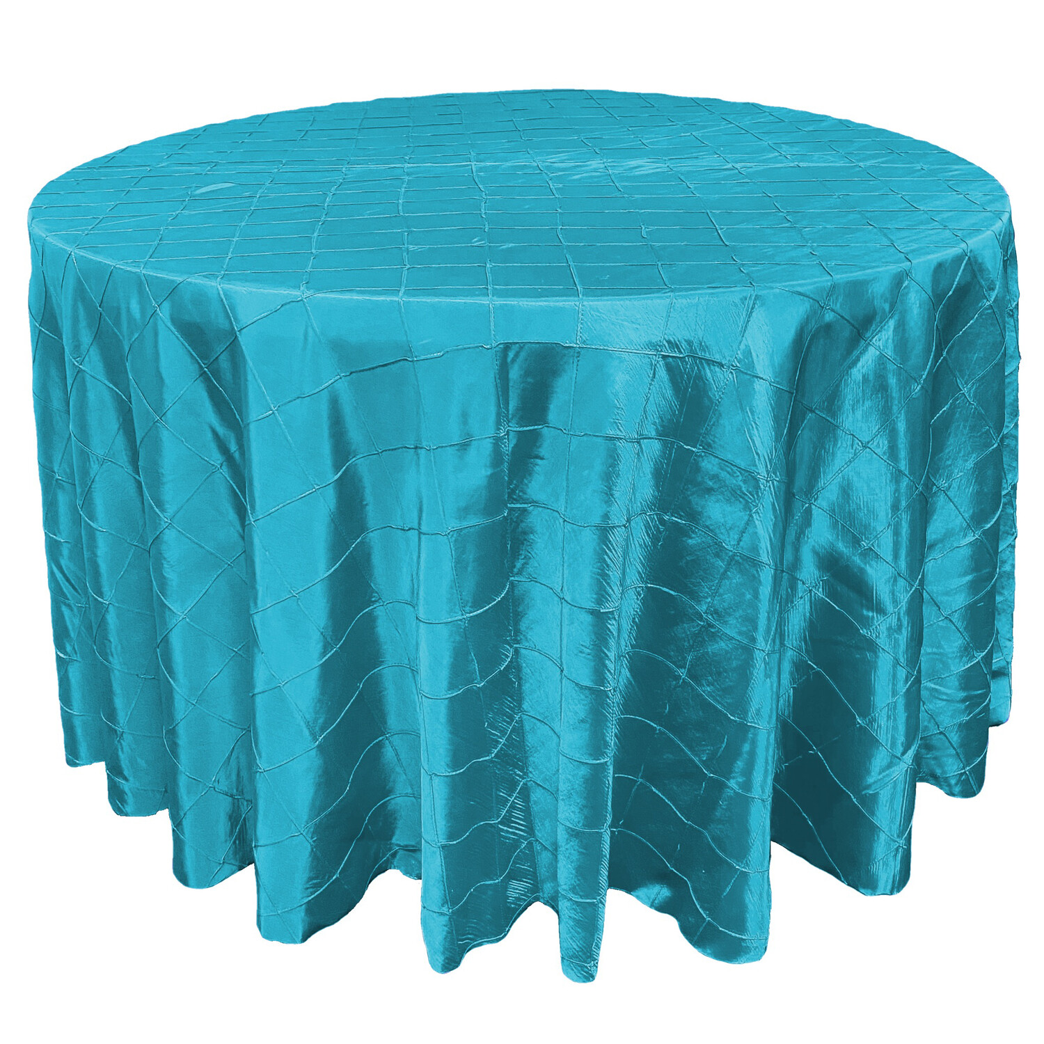 Turquoise Pintuck Linens