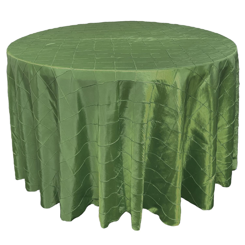 Clover Green Pintuck Linens