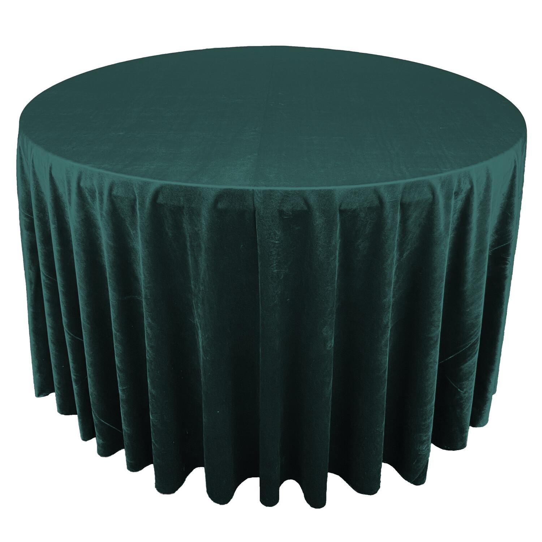 Hunter Green Premium Velvet Linens