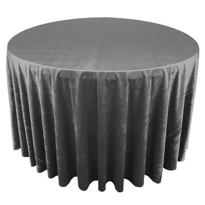 Charcoal Premium Velvet Linens