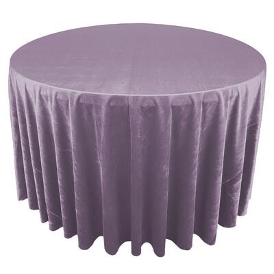Dusty Purple Premium Velvet Linens