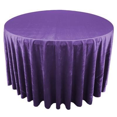 Royal Purple Premium Velvet Linens