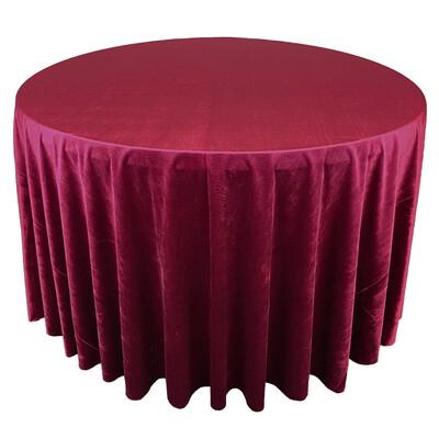 Apple Red Premium Velvet Linens