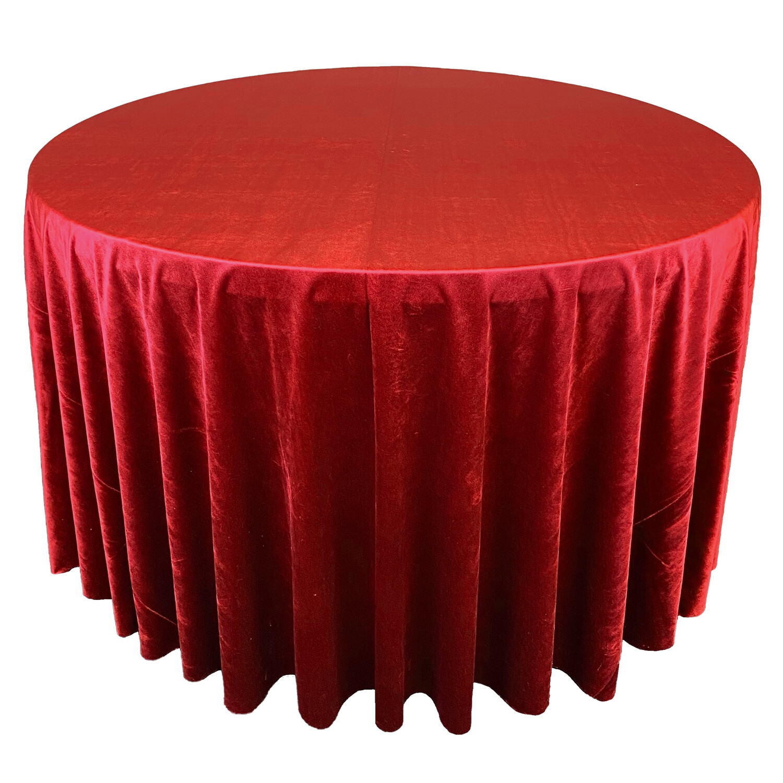 Red Premium Velvet Linens