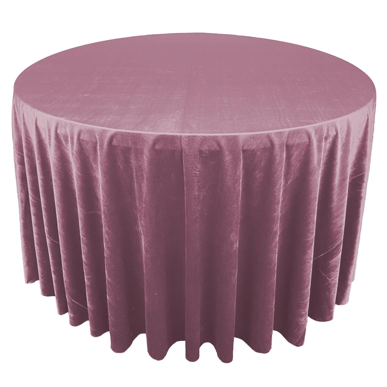 Mauve / Dusty Rose Premium Velvet Linens